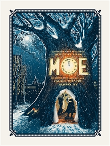 Moe. Concert Poster by Zeb Love