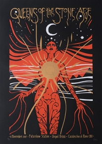 Queens Of The Stone Age Concert Poster