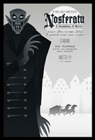Nosferatu Movie Poster by Rodolfo Reyes