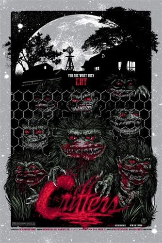 Critters Movie Poster by Rhys Cooper