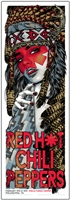 Red Hot Chili Peppers Concert Poster by Rhys Cooper