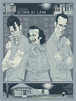 Down By Law Alamo Movie Poster by Rich Kelly