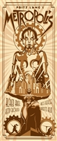 Metropolis Movie Poster (Gold) by Rodolfo Reyes