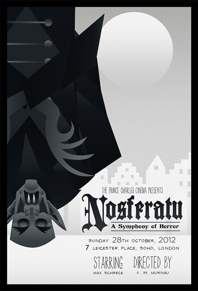 Nosferatu Movie Poster (Variant) by Rodolfo Reyes