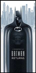 Batman Returns Poster by Rodolfo Reyes