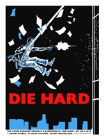 Die Hard Movie Poster by Tim Doyle