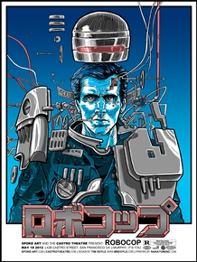 Robocop Movie Poster by Tim Doyle