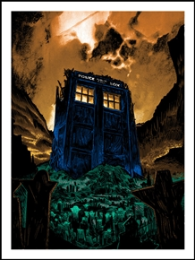 The Fields of Trenzalore Poster by Tim Doyle
