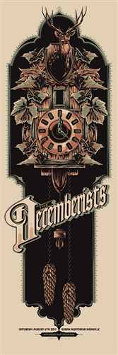 The Decemberists tour Poster by Ken Taylor