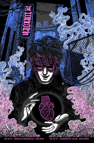 The Horrors Concert Poster by Sabrina Gabrielli