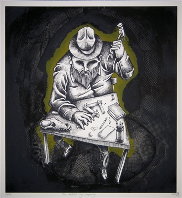 The Baffled King Composing Art Print by William Schaff