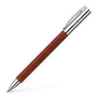 Pearwood brown ambition ballpoint pen