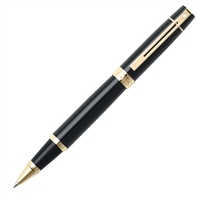 Sheaffer 300 Glossy Black w/ Gold Tone Trim Rollerball