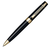Sheaffer 300 Glossy Black w/ Gold Tone Trim Ballpoint