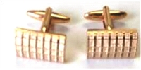 ROSE GOLDTONE CUFF LINKS