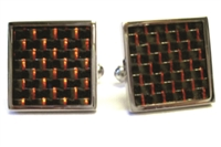 CARBON FIBER CUFF LINKS