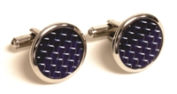 ROUND POLISHED CUFF LINKS