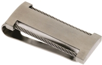 BRUSHED MONEY CLIP