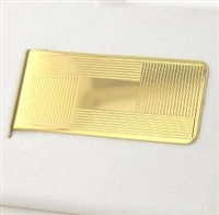 Hinged Gold Money Clip