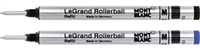 2 Montblanc LeGrand Rollerball Refills