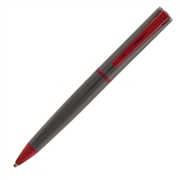 Gun Metal Red Ballpoint
