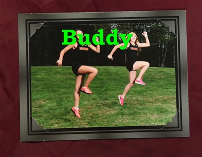 1 - 5x7 Buddy Picture in an easel.