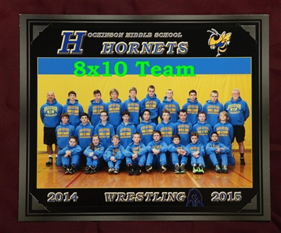 1 - 8x10 Team Picture in an Easel.