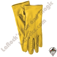 Clowning | Apparel | Gloves | Gloves Yellow Economy