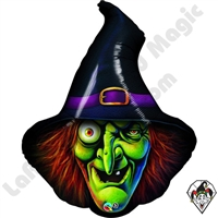 34 Inch Shape Wicked Witch Foil Balloon
