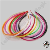 Hair Bands 1/4 inch Assortment 1 dz
