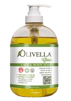 Olivella Soap - Face & Body Liquid Soap