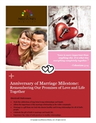 Anniversary of Marriage Milestone Module - Download