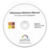 Child and Youth Milestones Ministry Manual (Series A) on CD