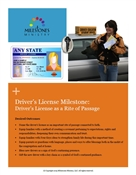Driver's License Milestone Module Download