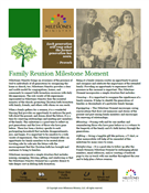 Family Reunion Milestone Moment Download