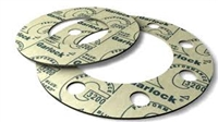 "Garlock 3200 SBR Full Face Gasket - 300 Lb. - 1/8"" Thick - 1"" Pipe"