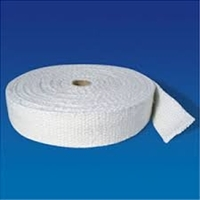 "Ceramic Fiber Tape Inconel Insert - 1/8"" Thick x 4"" Wide x 100 Ft Roll"