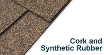 Cork and Synthetic Rubber Sheet
