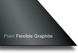 "Plain Flexible Graphite (No Insert) - 1/16"" Thick x 39.4"" x 39.4"""