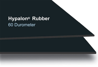 "60 Durometer Hypalon® Rolls - 1/8"" Thick x 36"" Wide Lineal Ft."