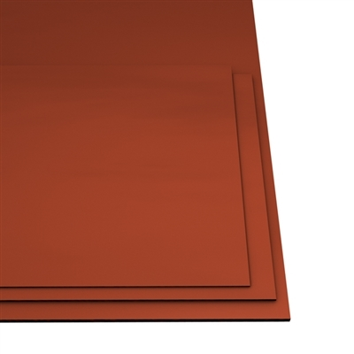 Red Silicone Sponge Medium Density Sheet