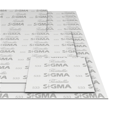 Flexitallic Sigma 533 Gasket Material Sheet - PTFE and Barytes Filler