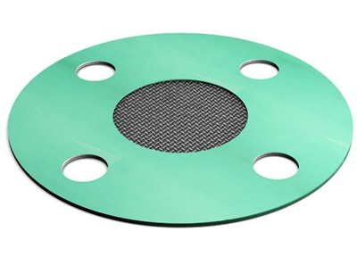 "Gasket Strainer- EQ 750, 2"" Pipe Size, Full Face Style , 20 SS Mesh"