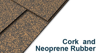 "Cork and Neoprene Sheet - 3/8"" Thick x 12"" x 12"""