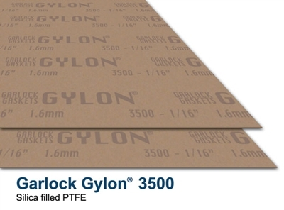 "Garlock Gylon® 3500 Gasket Sheet - 1/32"" - 60"" x 60"""