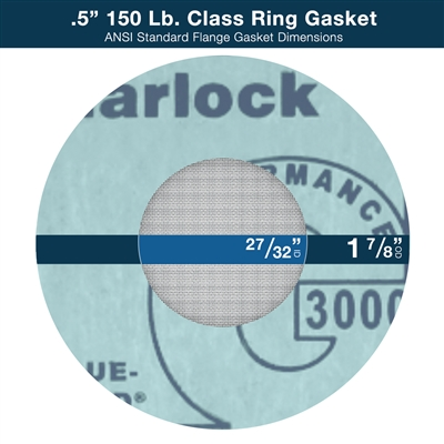"Gasket Strainer - Ring - 1/2"" - 150 Lb. Class"