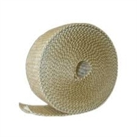 "Vermiculite Coated Fiberglass Tape with PSA- 1/8"" x 1"" x 100 Feet Roll"