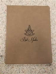 Light Brown Portfolio - Past Master