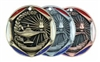 "2"" Tri-Color Medal Lamp of Knowledge"