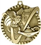 Knowledge Medal Gold 2 inches